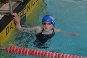 Wiltshire Sprints 2017 - Hannah Lewington One of each, gold in freestyle, silver in backstroke and bronze in butterfly