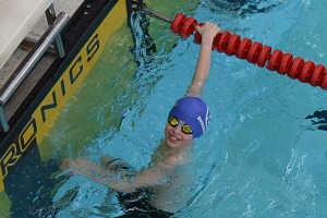 Wiltshire Sprints 2017 - Golds for Max Sullivan in the 10 years Butterfly, silver in breaststroke, bronze in freestyle and backstroke